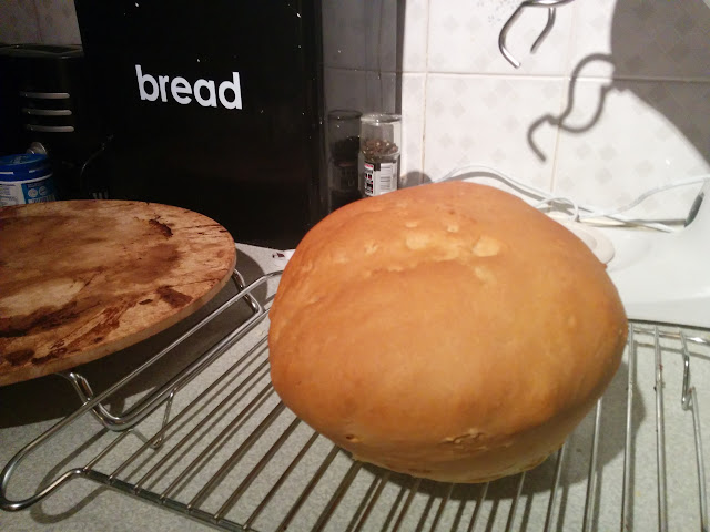 Ball of cooked bread