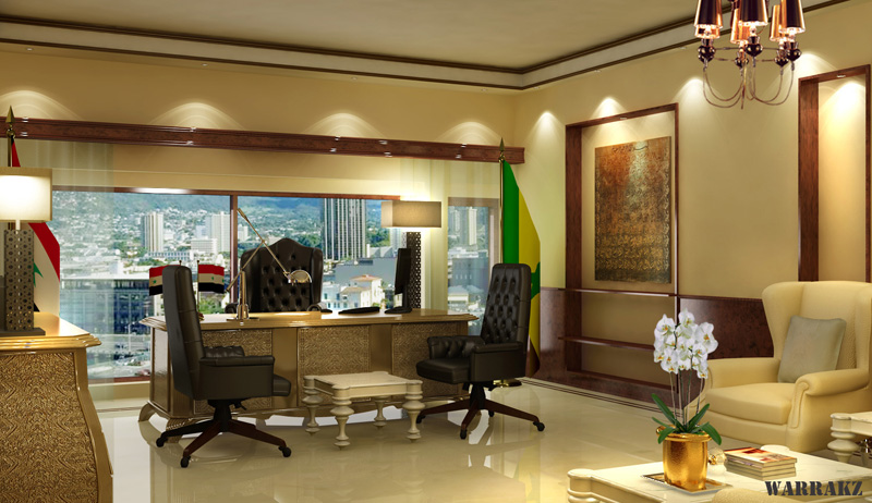 DAMASCUS, SYRIA ( LAWYERS OFFICE VIEW1 ) | 3D