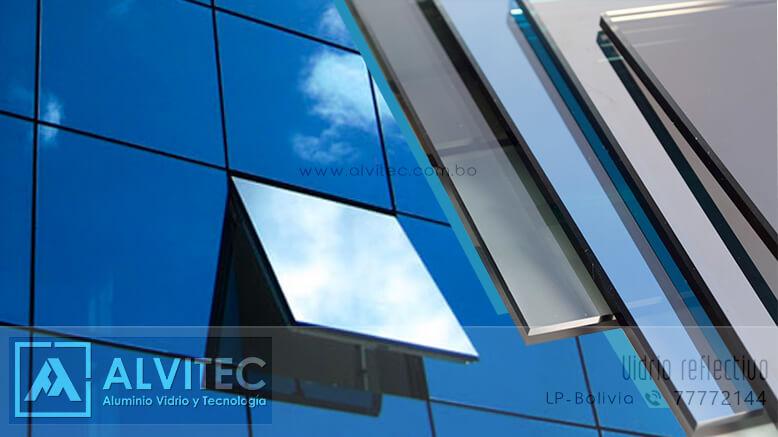 Vidrio reflectivo - reflexivo