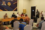 Suasana Silahturahmi Antara Kapolres Dengan Media Humas