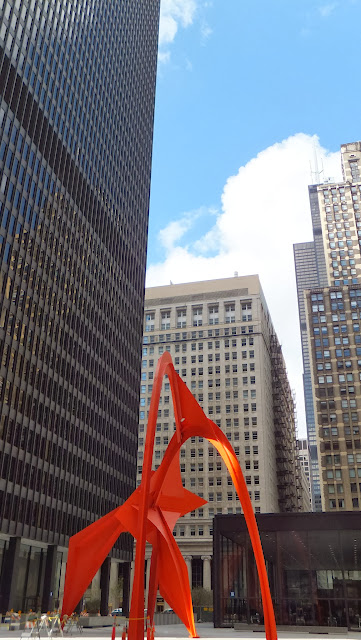 Flamingo, Alexander Calder, Chicago, Street Art, Elisa N, Blog de Viajes, Lifestyle, Travel