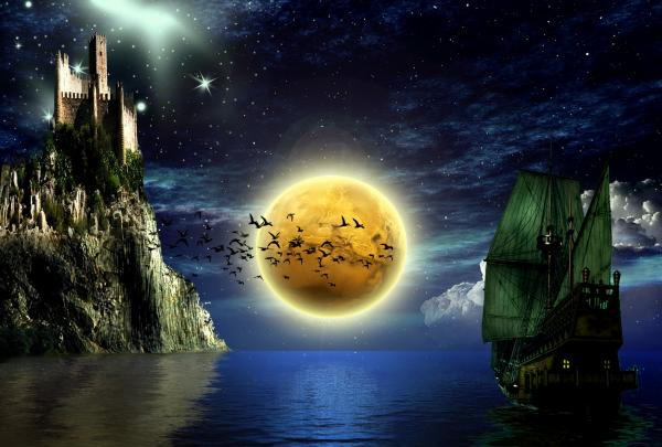 Land Of Yellow Moon, Magick Lands 3