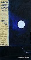 """""""Der Mond steht..."""", Öl auf Leinwand, 24x45, 2005, verkauft"""