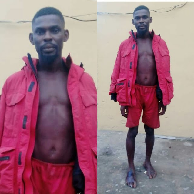 'Notorious native doctor' who allegedly prepares charms for IPOB/ESN members arrested in Imo (photos)