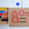 The Montessori Geometric Sticks