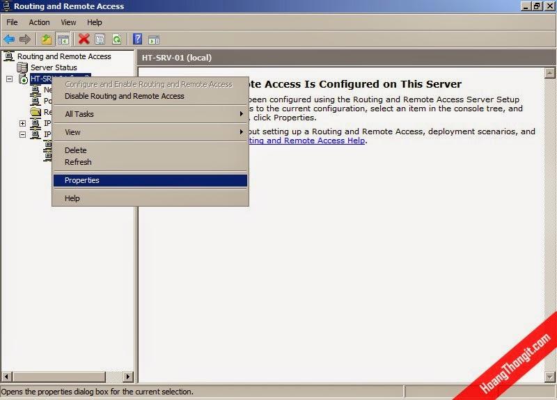 Cài đặt VPN Site-to-Site với giao thức L2TP Pre-shared Key