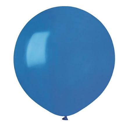 Ballonger helrunda 48 cm, blå
