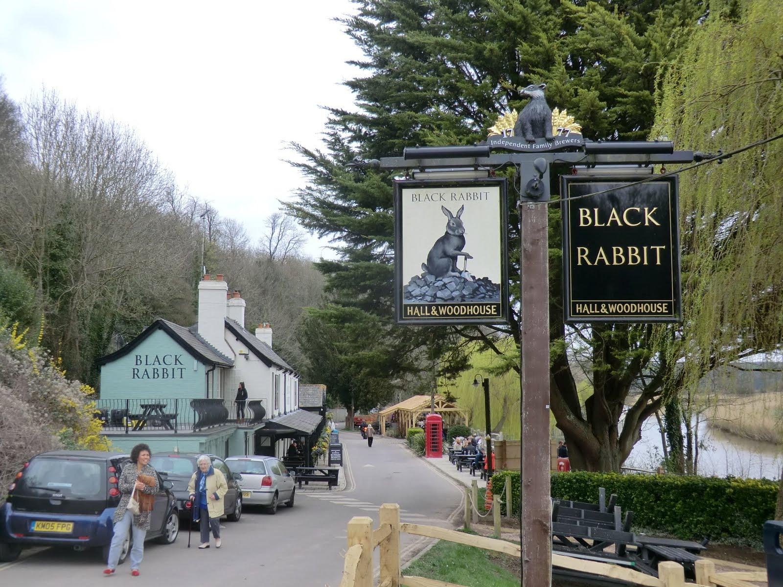 CIMG7452 The Black Rabbit, Offham