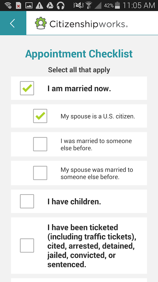 Citizenshipworks- screenshot