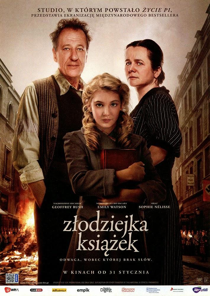 Ulotka filmu 'Złodziejka Książek (przód)'