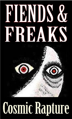 front cover artwork for kindle book Fiends and Freaks