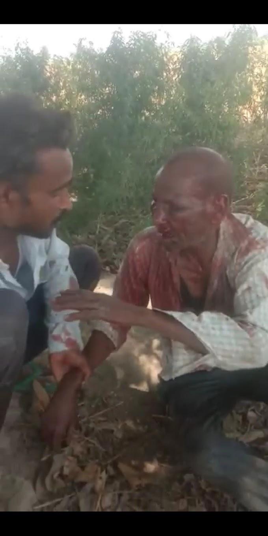 सुल्तानपुर जिले थाना कुड़वार के अंतर्गत अगई ग्राम पंचायत में दबंगो ने एक दलित को बंधक बना कर #Crimenews