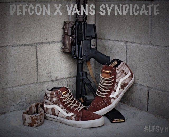 3b1effedce Laced   Fitted Syndicate  DEFCON x VANS SYNDICATE SK8-HI NOTCH PRO