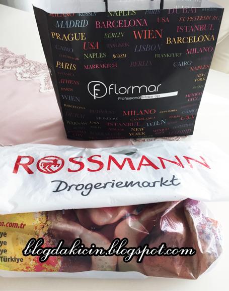 YAŞASIN ALIŞVERİŞE ÇIKTIM (Flormar&Rossmann)