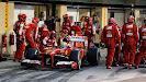 Felipe Massa pitstop Ferrari F138