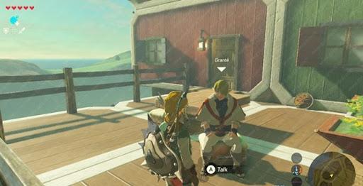 Kletterausrüstung Set Zelda : Zelda breath of the wild u der geheime händler grante in tarrey