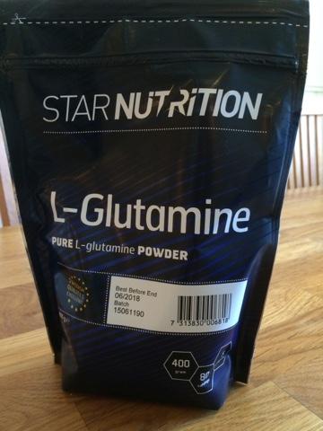l glutamin sockerberoende