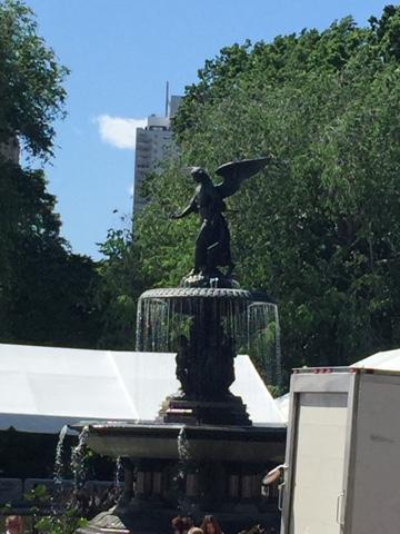 Central Park, New York, Bethesda Statue