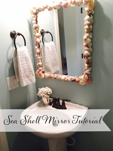 Sea shell mirror tutorial