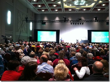 Crista Cowan's 2015 RootsTech filled within moments.
