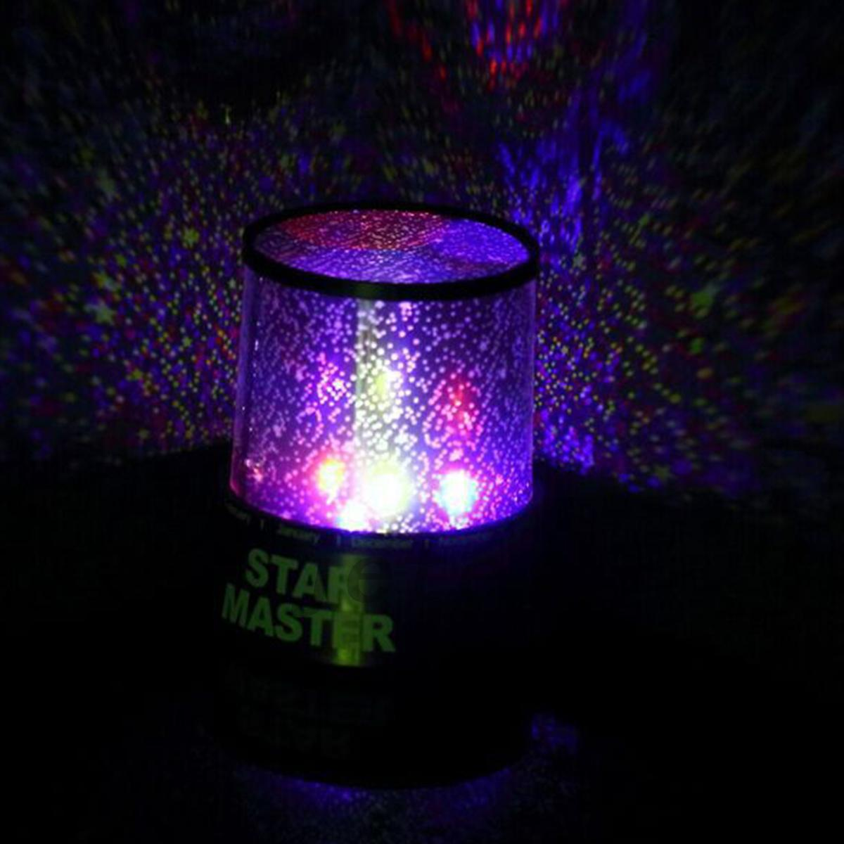 LED Starry Night Sky Projector Lamp Star Night Light ...