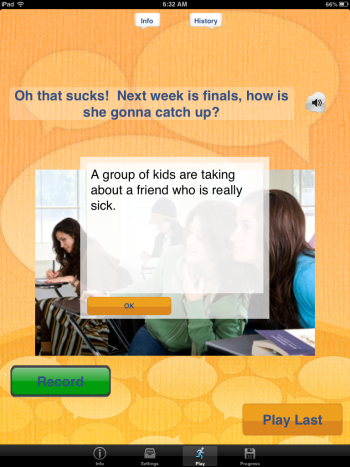 Conversation Builder Teen Info