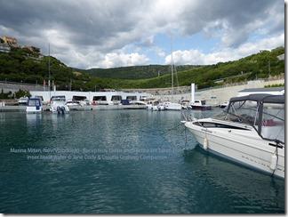 Croatia Cruising Companion - Marina Mitan Buildings