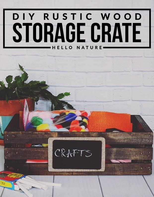 DIY-Rustic-Wood-Storage-Crate