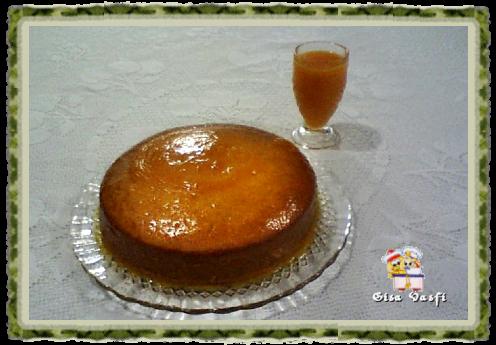 Bolo cremoso de tangerina 1