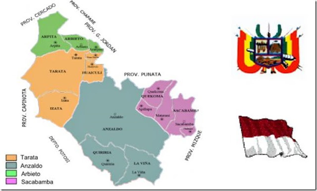 Provincia Esteban Arze: departamento de Cochabamba (Bolivia)