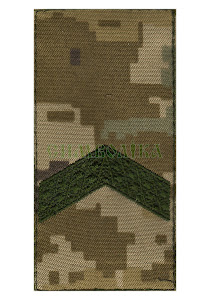Погон ДПС Старший сержант /тк.NDU/ 100х50мм