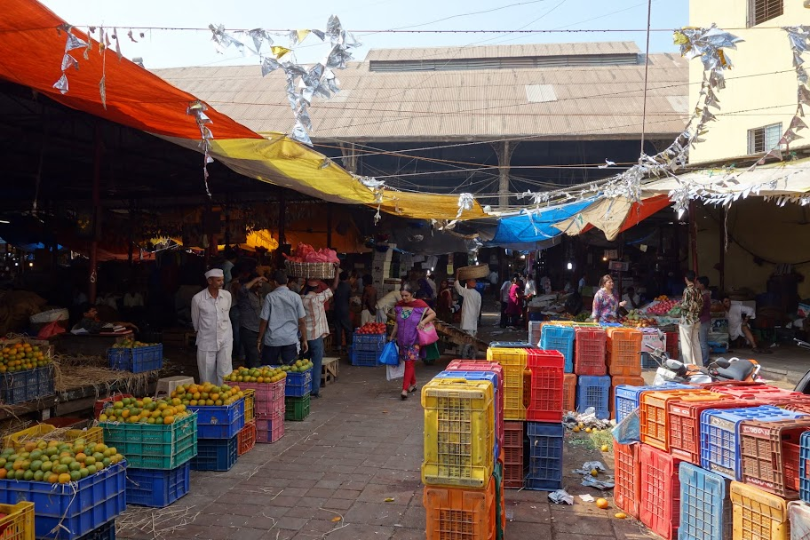 Ping Streets In Mumbai India