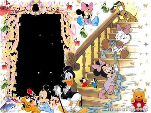 Marco de Fotos de Bebés Disney