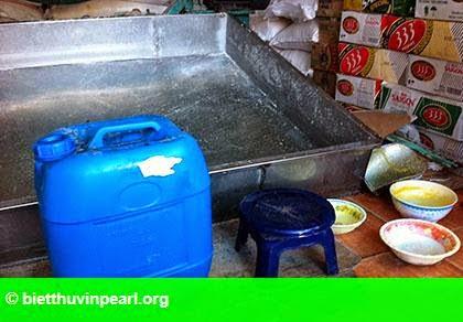 Hình 2: Bắt quả tang công nghệ chế biến đường cát bằng... axít photphoric