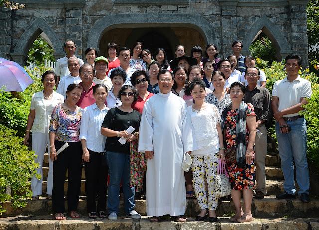 Hội đồng Mục vụ giáo xứ Vườn Xoài tĩnh tâm tại Vũng Tàu (Ảnh)