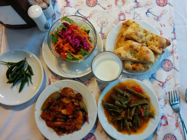 Vegetarian Turkish Meal