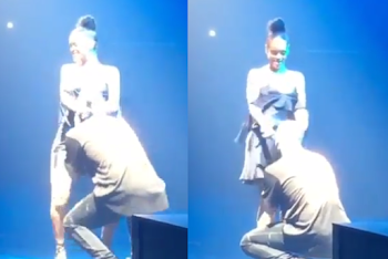 Drake Buries His Head In Rihanna's Crotch During Sexy Duet On Stage