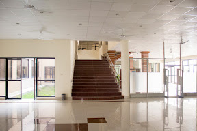 Inside view of Prof. Dr. Mohammad Nizamuddin Library, UOG