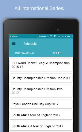 Live Cricket Score 2018 2.2 screenshots 12