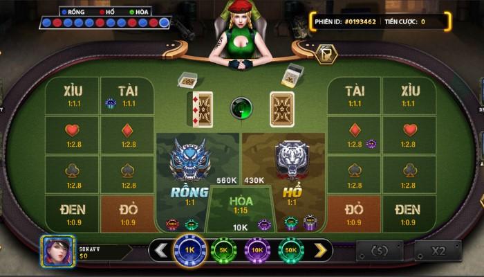 Người chơi cần chú ý đến nguồn vốn khi chơi bài Rồng Hổ online