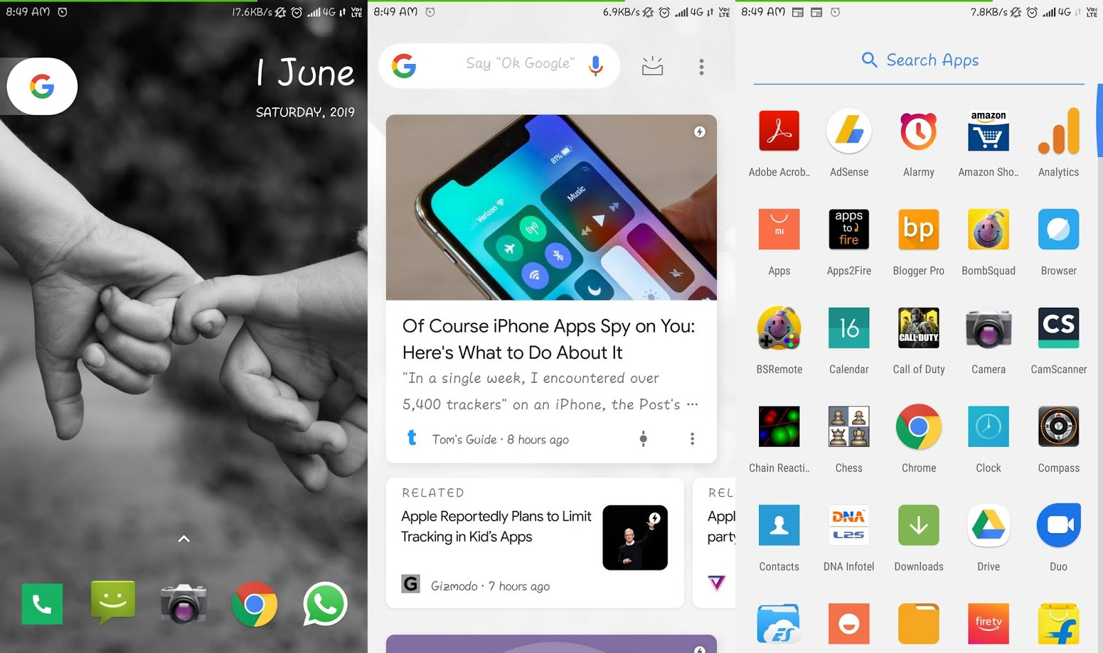 Which is best launcher for Android phone | Android Doctor