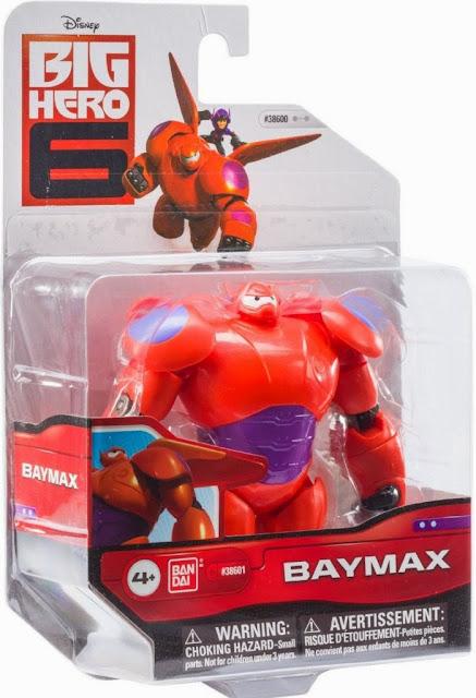 Mô hình Baymax được sản xuất bởi hãng Bandai Nhật Bản