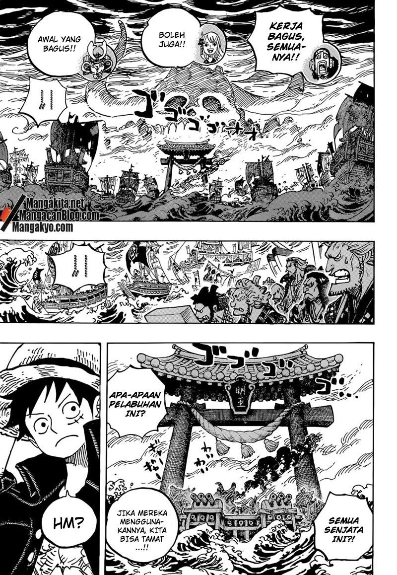 Baca One Piece 977 : piece, Komik, Piece, Chapter, Bahasa, Indonesia, KOMIKRO