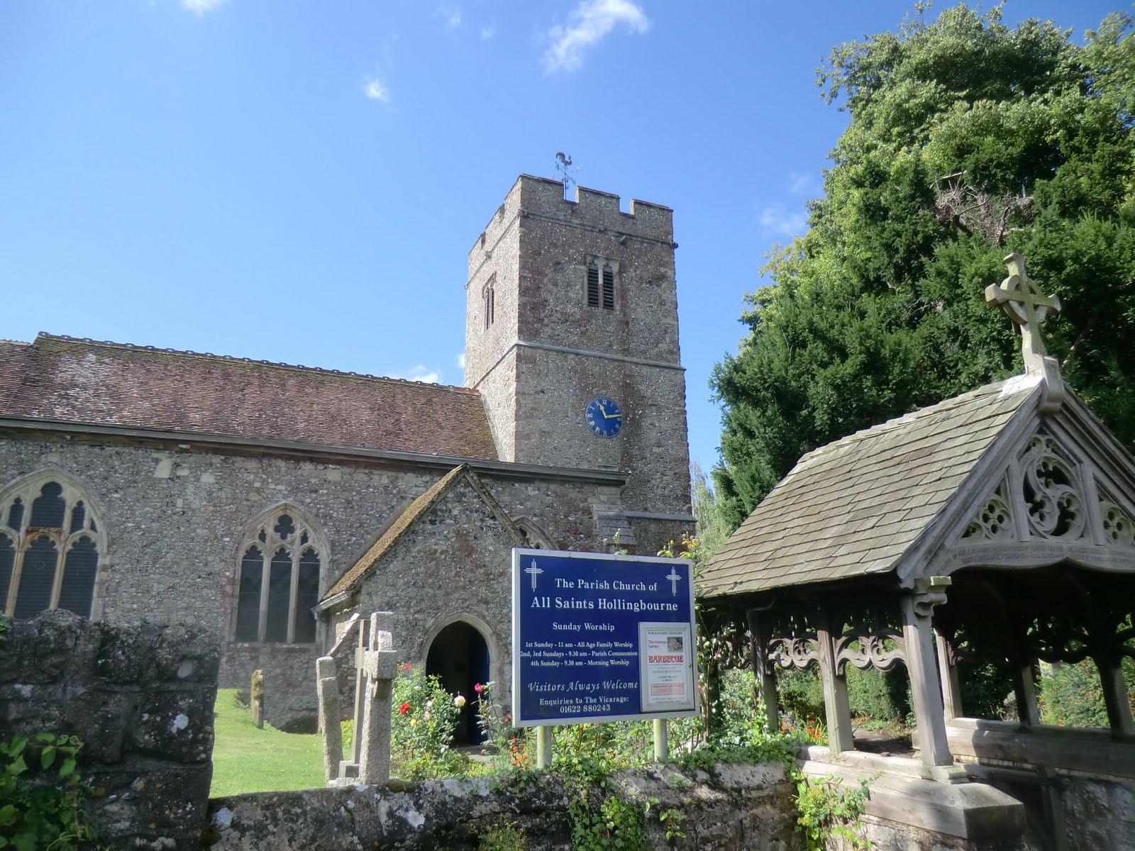 CIMG4181 All Saints church, Hollingbourne