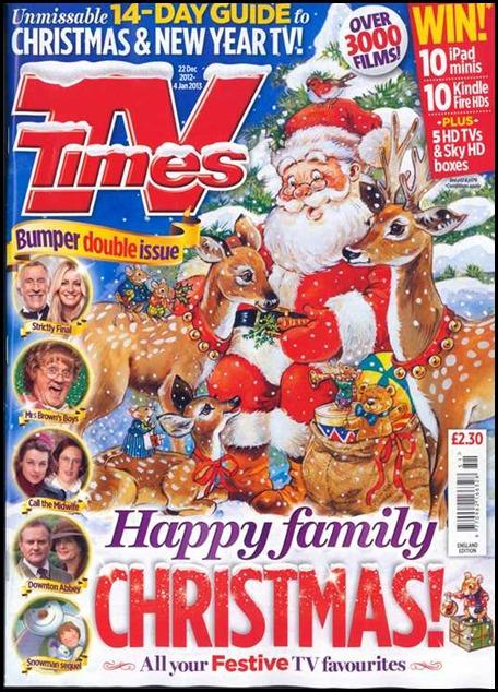 TV Times Christmas Edition 2012