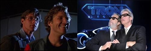 Jeff Bridges e Bruce Boxleitner juntos novamente em Tron O Legado