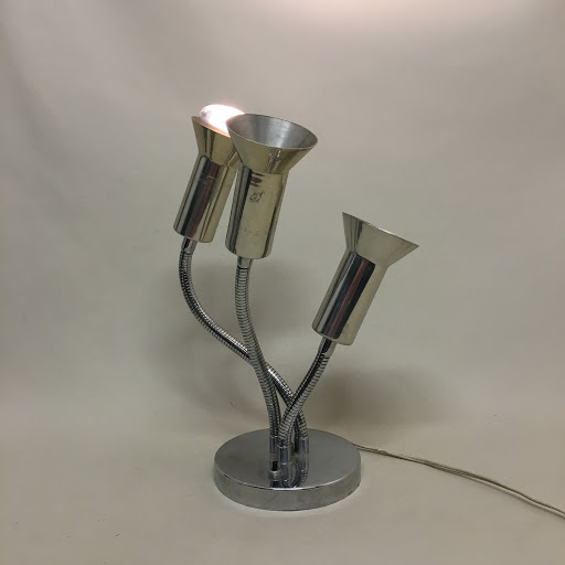 3-Armed Table Top Lamp