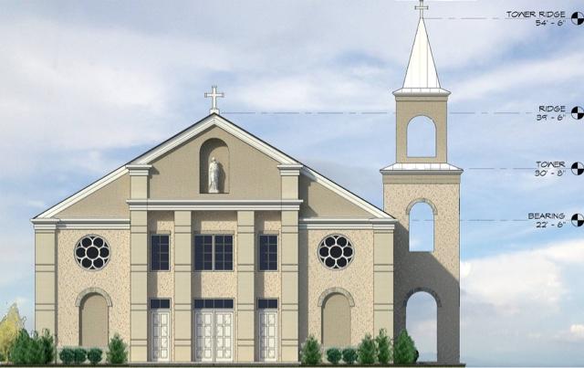 Ionic dezign studios church interior design and architecture for Church exterior design