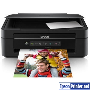 How to reset Epson XP-203 by application