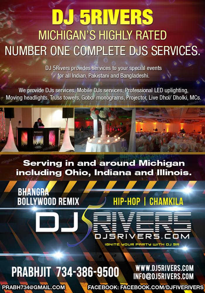 DJ 5Rivers - DJ Services in Michigan